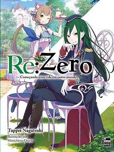Re:Zero – Começando uma Vida em Outro Mundo - Livro 05 (Item novo e lacrado)