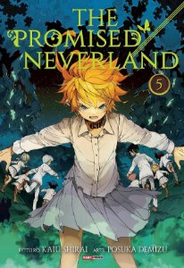 The Promised Neverland - Volume 05 (Item novo e lacrado)