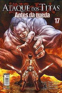 Ataque Dos Titãs : Antes Da Queda - Volume 17 (Item novo e lacrado)