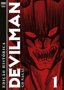 Devilman (Edição Histórica) - Selo Prime - Volume 01 (Item novo e lacrado)