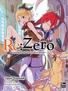 Re:Zero – Começando uma Vida em Outro Mundo - Livro 08 (Item novo e lacrado)