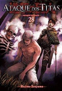 Ataque Dos Titãs - Volume 28 (Item novo e lacrado)
