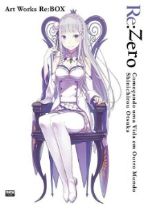 Re:Zero - Art Works Re:BOX (Item novo e lacrado)