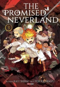 The Promised Neverland - Volume 03 (Item novo e lacrado)