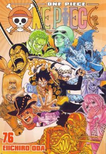 One Piece - Volume 76 (Item novo e lacrado)