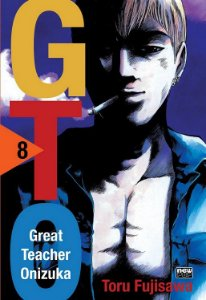 GTO (Great Teacher Onizuka) - Volume 08 (Item novo e lacrado)
