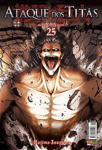 Ataque Dos Titãs - Volume 25 (Item novo e lacrado)
