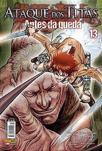 Ataque Dos Titãs : Antes Da Queda - Volume 13 (Item novo e lacrado)