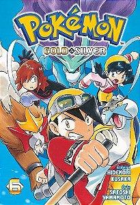 Pokémon Gold & Silver - Volume 06 (Item novo e lacrado)
