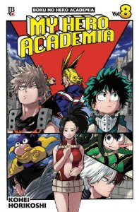 My Hero Academia - Volume 08 (Item novo e lacrado)
