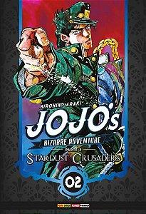 Jojo's Bizarre Adventure - Stardust Crusaders (Parte 3) - Vol. 02 (Item novo e lacrado)