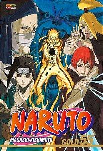 Naruto Gold - Volume 55 (Item novo e lacrado)