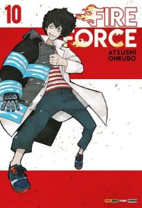 Fire Force - Volume 10 (Item novo e lacrado)