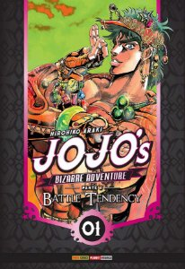 Jojo's Bizarre Adventure - Battle Tendency (Parte 2) - Vol. 01 (Item novo e lacrado)