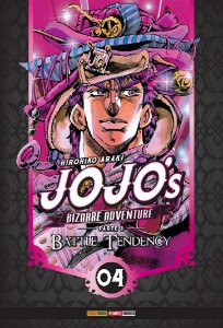 Jojo's Bizarre Adventure - Battle Tendency (Parte 2) - Vol. 04 (Item novo e lacrado)