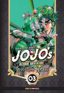 Jojo's Bizarre Adventure - Phantom Blood (Parte 1) - Vol. 03 (Item novo e lacrado)