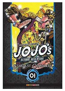 Jojo's Bizarre Adventure - Stardust Crusaders (Parte 3) - Vol. 01 (Item novo e lacrado)