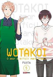 Wotakoi: O amor é difícil para Otakus - Volume 05 (Item novo e lacrado)