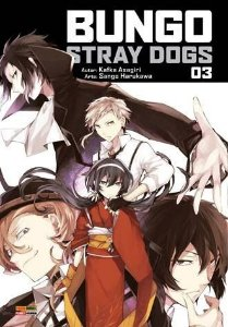 Bungo Stray Dogs - Volume 03 (Item novo e lacrado)