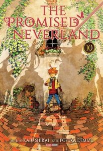 The Promised Neverland - Volume 10 (Item novo e lacrado)