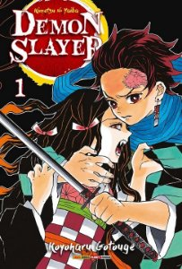 Demon Slayer : Kimetsu No Yaiba - Volume 01 (Item novo e lacrado)