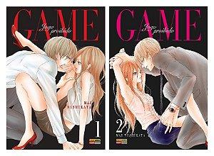 Game : Jogo Proibido - Volumes 01 e 02 (Itens novos e lacrados)