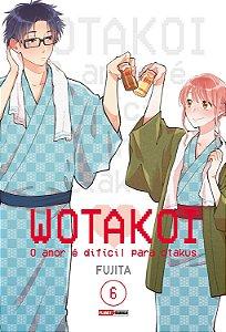Wotakoi: O amor é difícil para Otakus - Volume 06 (Item novo e lacrado)