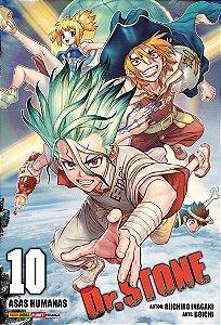 Dr. Stone - Volume 10 (Item novo e lacrado)