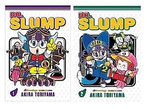 Dr Slump - Volumes 01 e 02 (Itens novos e lacrados)