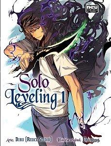 Solo Leveling -  Manhwa - Volume 01 (Item novo e lacrado)