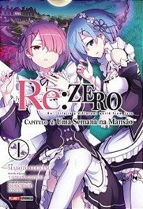 Re:Zero - Capítulo 02 : Uma Semana Na Mansão - Volume 01 (Item novo e lacrado)