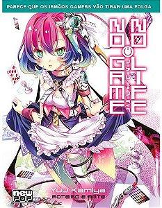 No Game No Life - Livro 09 (Item novo e lacrado)