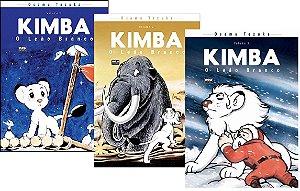 Kimba : O Leão Branco - Volumes 01, 02 e 03 (Itens novos e lacrados)