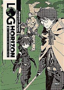 Log Horizon (O início de outro mundo) - Livro 01 (Item novo e lacrado)