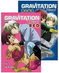 Gravitation Red e Gravitation Blue (Itens novos e lacrados)