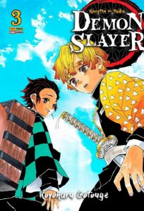 Demon Slayer : Kimetsu No Yaiba - Volume 03 (Item novo e lacrado)