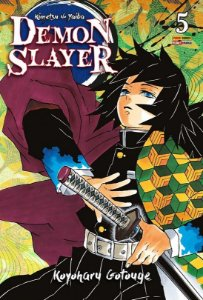 Demon Slayer : Kimetsu No Yaiba - Volume 05 (Item novo e lacrado)