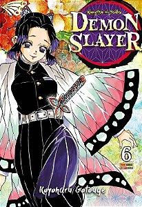 Demon Slayer : Kimetsu No Yaiba - Volume 06 (Item novo e lacrado)