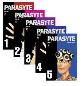 Parasyte (Kiseiju) - Volumes 01 ao 10 - Completo (Itens novos e lacrados)