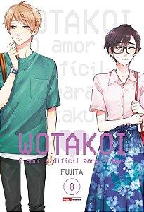 Wotakoi: O amor é difícil para Otakus - Volume 08 (Item novo e lacrado)