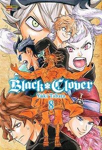 Black Clover - Volume 08 (Item novo e lacrado)