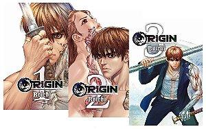 Origin - Volumes 01, 02 e 03 (Itens novos e lacrados)