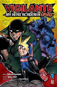 Vigilante : My Hero Academia Illegals - Volume 01 (Item novo e lacrado)