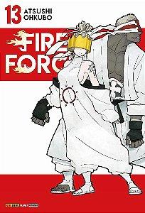 Fire Force - Volume 13 (Item novo e lacrado)