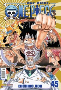 One Piece - Volume 45 (Item novo e lacrado)