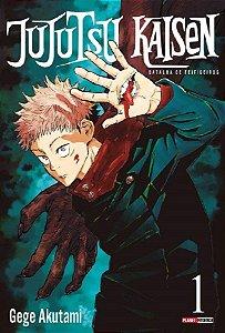 Jujutsu Kaisen : Batalha De Feiticeiros - Volume 01 (Item novo e lacrado)