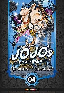 Jojo's Bizarre Adventure - Stardust Crusaders (Parte 3) - Vol. 04 (Item novo e lacrado)