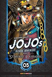 Jojo's Bizarre Adventure - Stardust Crusaders (Parte 3) - Vol. 05 (Item novo e lacrado)