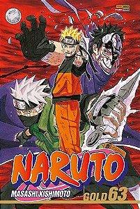 Naruto Gold - Volume 63 (Item novo e lacrado)