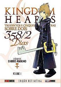 Kingdom Hearts : 358/2 Dias - Edição Definitiva - Volume 01 (Item novo e lacrado)